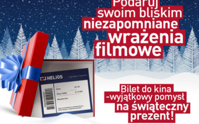 Podaruj bliskim voucher do kina!